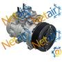 Compressor Denso 10p15 Caminhão Vw 19-320/31-370/25-370