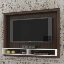 Painel Para Tv Br 420-50 Tabaco/branco
