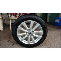 Rodas De Liga Leve Honda Civic Aro 16 Orig Lxs 2013 C/pneu
