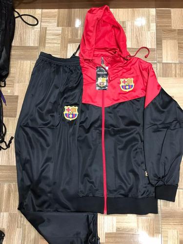 Agasalho Do Barcelona Blusa E Calça Vermelho Preto Conjunto. Agasalho Do Barcelona  Blusa ... 9f5ca909ac940