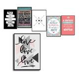 Kit 4 Placas Decorativas Motivacionais Você Escolhe 20x30