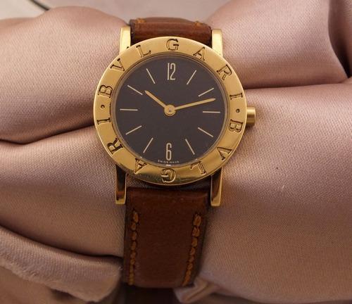 86b4b218c599e Relógio De Pulso Bvlgari Feminino Em Ouro 18k J17306