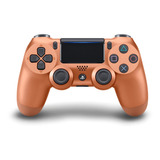 Controle Joystick Sony Dualshock 4 Metallic Copper