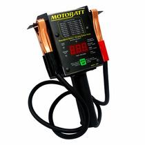 Testador Digital Com Simulador De Partida Bateria Motobatt