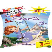 50 Almofadas Personalizadas 20x30 Lembrança Princesa Sofia