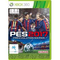 Pes 2017 - Xbox 360 - Disco Fisico