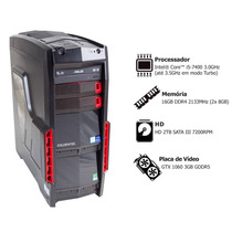 Computador Gamer Goldentec Core I5 16gb 2tb Dvd Gtx1060