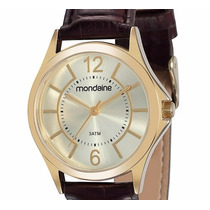 Relógio Mondaine Feminino. Class Couro. 83277lpmvdh1