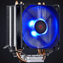 Cooler Intel Amd Zero K Z2 Fan 92 Mm Led Azul Pcyes Lga 100w