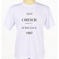 Camiseta Camisa Personalizada Banda Rock New Order