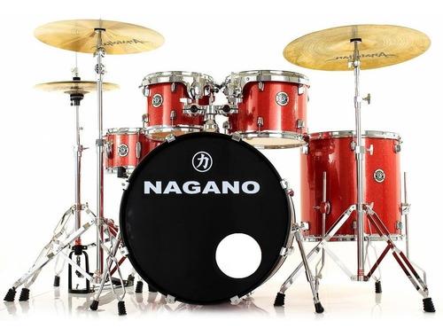 Bateria Ensaio Tagima Nagano Garage Rock 22 Hard Poplar