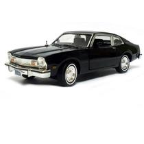 Ford Maverick 1974 Motormax 1:24 Preto