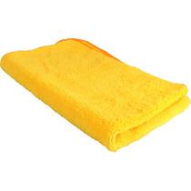 Pano Microfibra Flanela Lava Carro A Seco 30 X 30 Cm Limpeza