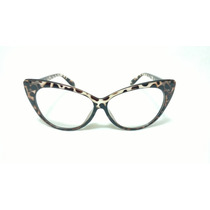 Armacao P/ Oculos De Grau Feminino Moda Gatinho Super Oferta