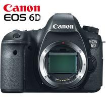 Camera Canon Eos 6d Corpo Cmos 20.2 Mp + Nota Fiscal