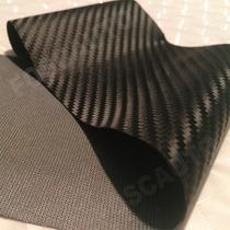 Tecido Napa Courvin Sintético Fibra Carbono P/ Carro E Moto
