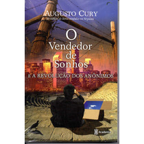 Livro Augusto Cury Auto Ajuda Novo Lacrado Vendedor De Sonho