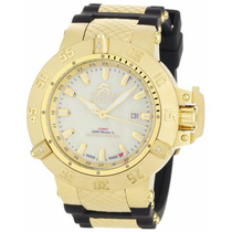 Relógio Invicta 0738 Subaqua Noma Iii Gmt Original Na Caixa