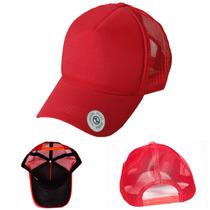 c00725b356f5e Busca Boné Trucker De Redinha Vermelho Liso Telinha com os melhores ...