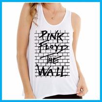 Regata Feminina Pink Floyd, Rock, Banda, Música, The Wall