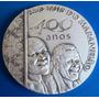 Medalha Prata 900-s.luiz Maranhão 400 Anos-2012-50mm-c. Moed