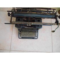 Maquina De Escrever Remington Antiga