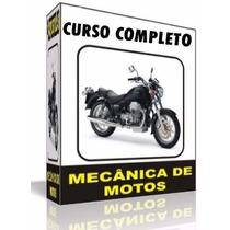 Curso Completo De Mecânica De Motos + 5 Curso Gartis Brinde