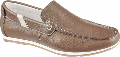 738f19d4c8 Mocassim Dockside Sapatilha Drive Masculino Tabaco 151 11