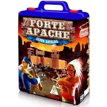 Paliçada Forte Apache Gulliver Maleta Super Batalha Pintados