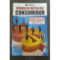 Livro Código De Defesa Do Consumidor Escala C/ 1 Unidade.