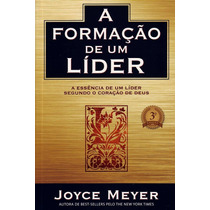 Livro A Formação De Um Líder - Joyce Meyer