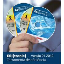 Bosch Esi Tronic 2012 K, W, C Arquivos Catálogo De Peças,