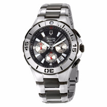 Relógio Luxo Bulova 98b013 Marine Star