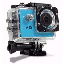 Filmadora Câmera Capacete Esporte Mergulho Moto Bike Top Hd