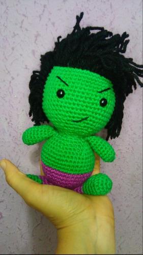Kit Amigurumi Os Vingadores Em Croche Avengers Miniaturas - R$ 159 ... | 500x281