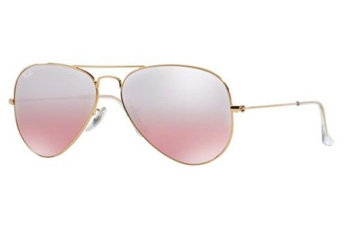 f7f8ee15de shop usa ray ban 3025 marron degrade 8b1ab ab5b9 4d614 75e0a; low cost  oculos sol ray ban aviador rb3025 001 3e 55mm dourado rosa d b2078 426ef
