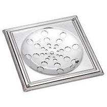 Ralo Grelha Inox 15x15 C/ Caxilho Quadrado