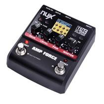 Pedal De Efeito Amp Force Nux Simulador De Amplificador