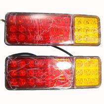 Lanterna Freio Led Caminhão Carreta Carretinha Reboque 12 V