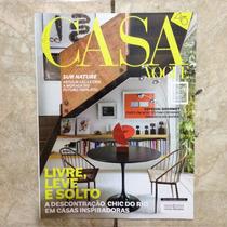 Revista Casa Vogue 362 10.20015 Descontração Chic Em Casas