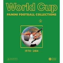 Livro World Cup Panini Football Collections Copas 1970-2014