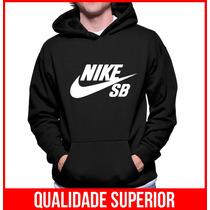 Moleton Nike Sb Skateboard Masculino E Feminino Blusa Casaco