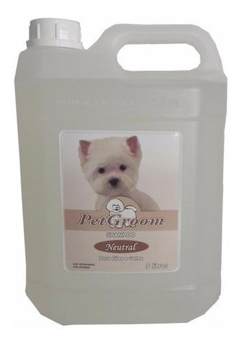 Shampoo  Cães E Gatos 5 Litros Cheirinho De Talco - Petgroom