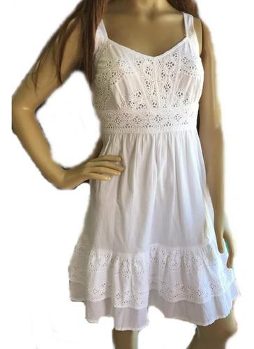 e641d29855be Vestido Branco Tecido Laise Renda Grupir Curto Retrô Festa