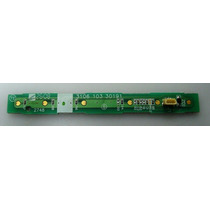 Placa Teclado Philips 42pfl3403/78 3106 103 30191