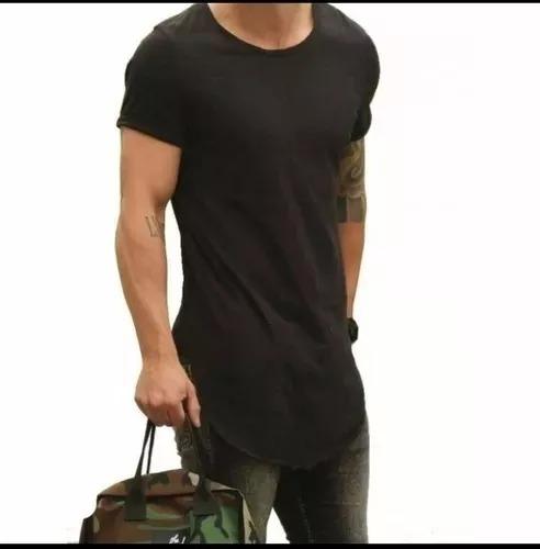0ba511bcc6 Kit 16 Camiseta Longline Camisa Blusa Oversized Swag Masculi