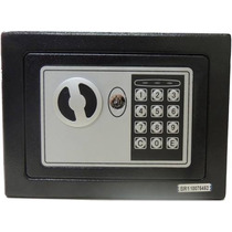 Cofre Eletrônico Digital Em Aço E Chave De Segurança + Frete