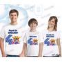 Lembrança De Aniversario Ursinho Pooh Camiseta Kit Com 3