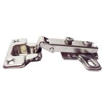 Dobradiça Para Porta De Armário Reta Pequena 26mm De Pressão