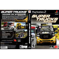 Playstation 2 - Super Trucks Racing { Original }